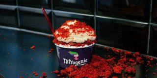 Nitrogenie, el helado mágico