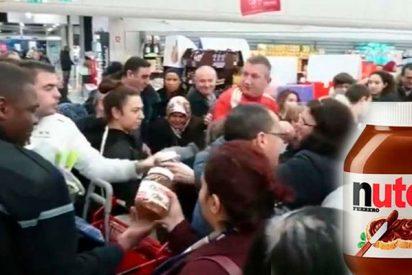 Un descuento del 70% en botes de Nutella provoca destrozos y peleas en supermercados franceses