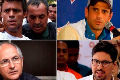 Los principales líderes de la oposición venezolana inhabilitados por el régimen de Nicolás Maduro
