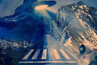 """Internautas detectan un """"OVNI dorado"""" en una transmisión de la NASA"""