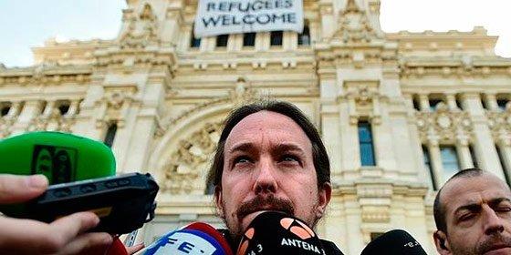 Así mandan al carajo a Pablo Iglesias por pedir que lleguen más refugiados a España
