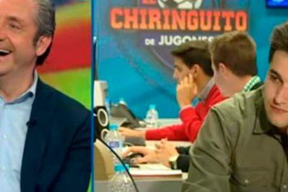 Pedrerol pilla otra vez a Fermín en 'El Chiringuito'
