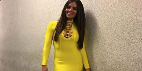 El ajustadísimo mini vestido de Cristina Pedroche no apto para supersticiosos