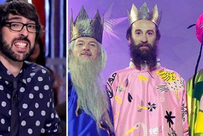 Quique Peinado se burla de los tradicionales Reyes Magos y en Twitter se lo cepillan sin contemplaciones