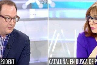 """El independentista se pone soberbio en Telecinco y se lleva una cura de humildad tremebunda: """"¡Qué me estás contando! ¡Estás muy nervioso!"""""""