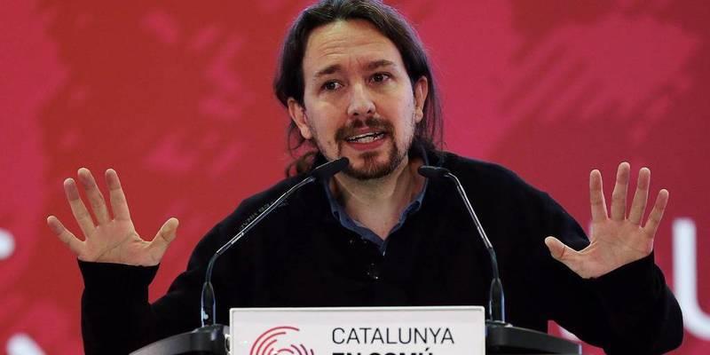 El indecente apoyo de Iglesias a Puigdemont y su pullazo a Felipe VI
