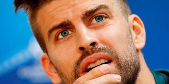 """El Espanyol tacha de """"xenófobas"""" las palabras de Piqué tras el partido de Copa del Rey"""