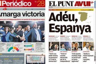Soraya rescata con 7 millones de euros en subvenciones a la prensa golpista para que sigan insultando a España