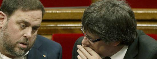 """Luis Ventoso se cachondea de Junqueras: """"Verle como la alternativa cabal a Puigdemont es como curar la gripe con una neumonía"""""""