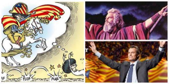 """José María Carrascal se troncha de la chaladura de Cataluña: """"Es un psiquiátrico con Napeoleones por todas partes"""""""
