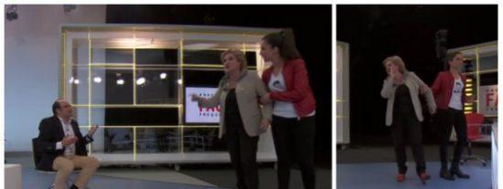 Rahola saca su lado macarra en TV3 e intenta tener algo más que palabras con un exdiputado del PP