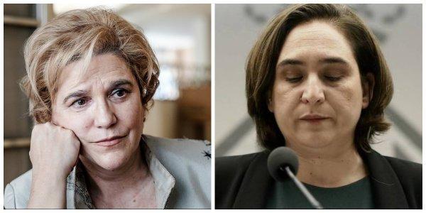 """Rahola, de uñas con la """"pornográfica"""", """"oportunista"""" y """"buitre"""" Colau por sacar a pasear la sentencia del Palau"""