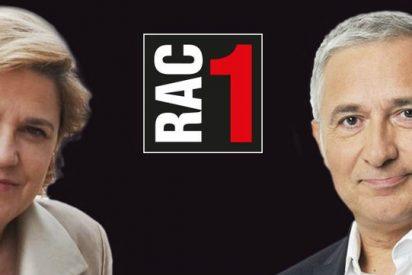 Pilar Rahola y Xavier Sardá acaban a gritos enloquecidos en RAC1