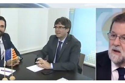 Rajoy amenaza claro y conciso a Torrent y sus compinches por si se les ocurre investir al prófugo