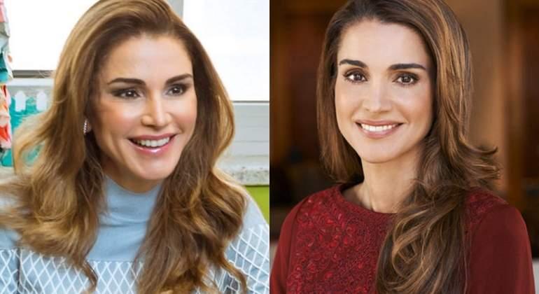 Rania de Jordania 'se pasa con el botox'