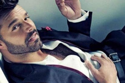 Ricky Martin se desnuda y arde Instagram