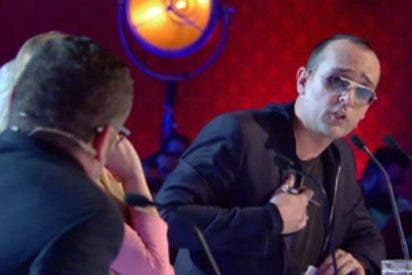 """Bronca brutal entre Risto y Jorge Javier por una concursante que movía las """"tetas"""""""