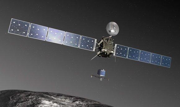 La misión Rosetta resistió a una bestial ventisca de polvo cósmico