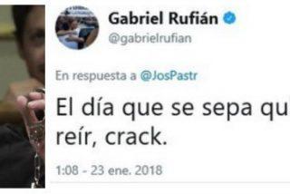 """Así amenaza Rufián a los tuiteros que no le bailan el agua: """"El día que sepamos quién eres nos vamos a reír"""""""