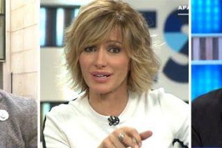 Susanna Griso se cachondea del nuevo duelo de espadas de los 'Pimpinela' de la TV