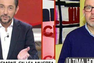 Javier Ruiz entierra para siempre al abogado de Toni Comin, Gonzalo Boye, por querellarse contra Ana Rosa Quintana por difundir los mensajes de Puigdemont