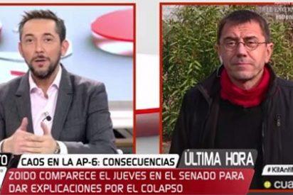 Javier Ruiz celebra el cumpleaños de Monedero sin preguntar por Iglesias y permitiéndole un mitin