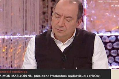 Al jefazo de la TV3 ya le pintan la cara hasta en su propia casa