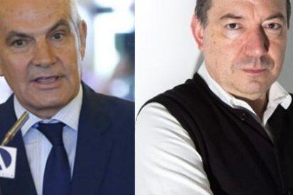 """Antonio Caño entra en escena y se lanza al cuello de Vicent Sanchis: """"La TV3 es una fuerza oscura que quiere llevar a los ciudadanos a una tiranía"""""""