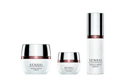 Triple Tecnología de colágeno de Sensai Cellular Performance Wrinkle Repair Essence: La esencia de una piel perfecta