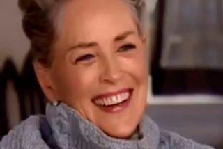 Sharon Stone se descojona al ser preguntada sobre el acoso sexual en Hollywood