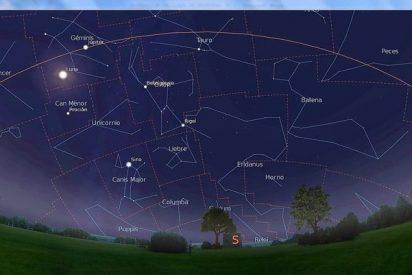La estrella Sirio se oscurece y deja ver el cúmulo escondido Gaia 1
