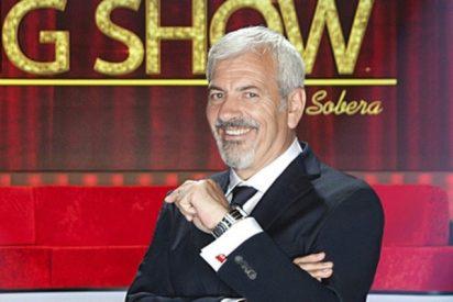 Bronca en Telecinco: El capo Vasile se harta de Carlos Sobera y lo envía a la 'nevera'