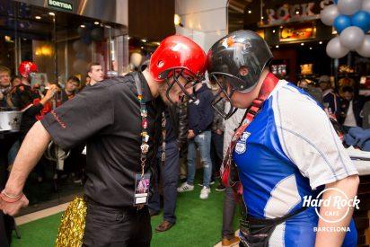 Hard Rock celebra a lo grande el esperado Big Game en el Café de Barcelona
