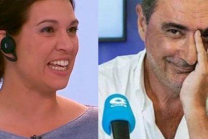 La venenosa Beatriz Talegón afirma que Carlos Herrera ya no tiene cojones de meterse con ella desde que ambos son compañeros en 'OKDiario'