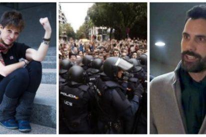"""Talegón, a este paso serás el brazo tonto de Torrent: """"Unilateralidad fue la agresión policial del 1-O"""""""