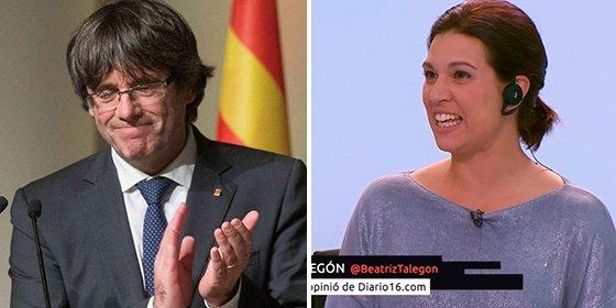 Cómo no te vamos a querer, Talegón: la 'indepe' de palo pide prudencia y ve una estrategia en los mensajes de Puigdemont