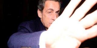 Sarkozy pierde los nervios con un reportero en Madrid