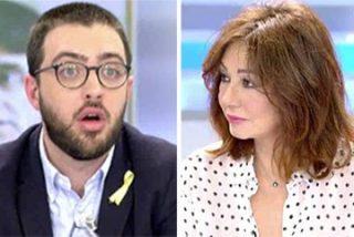 """Ana Rosa, Arcadi y Palomera fulminan al separatista deslenguado que dice que el PP gobierna en Cataluña """"por sus cojones"""""""