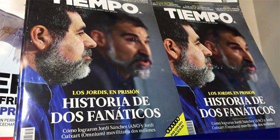 La maldición del independentismo también se llevó por delante a la revista Tiempo