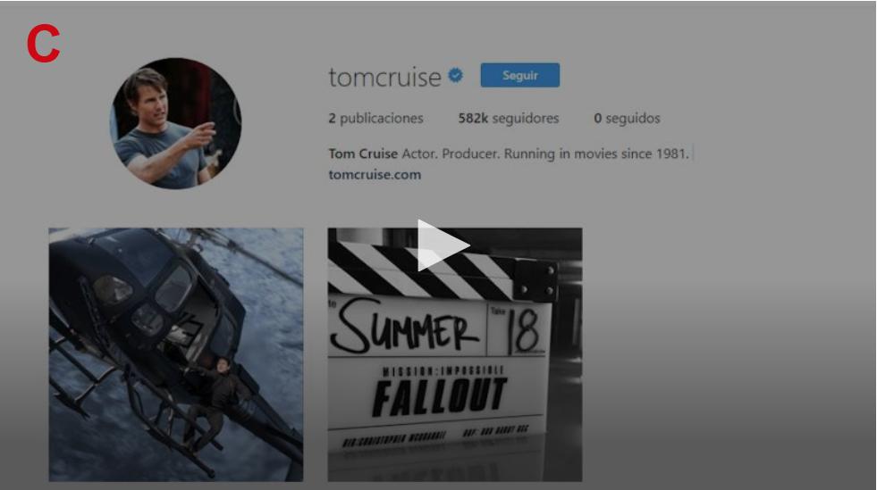 Tom Cruise estrena Instagram con una misión... más que posible