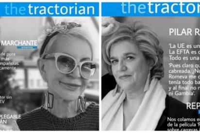 'The Tractorian', la revista para la gente genéticamente superior que se burla de las musas independentistas