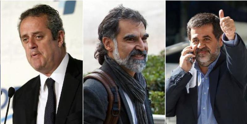 """Los 'Jordis' y Forn se cagan: """"No creo en la unilateralidad como vía a la independencia"""""""