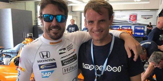 Emotivo reencuentro entre Fernando Alonso y Antonio García 19 años después