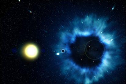 Moléculas únicas no son supervivientes: nacen adaptadas al viento de los agujeros negros