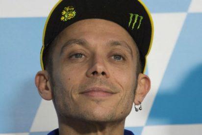 ¿El último trago de Valentino Rossi?