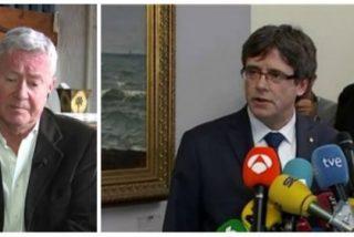 El podemita Verstrynge enloquece del todo y acusa al Estado de querer asesinar al prófugo Puigdemont