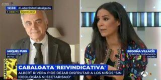 La soberana lección de Begoña Villacís al 'amarillista' exdirector de TV3 por la cabalgata