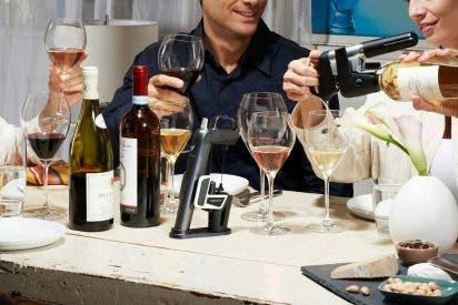 Coravin se erige como la mejor opción para esos amantes del vino que lo consumen de forma esporádica, ya que el sistema permite la conservación del vino a largo plazo