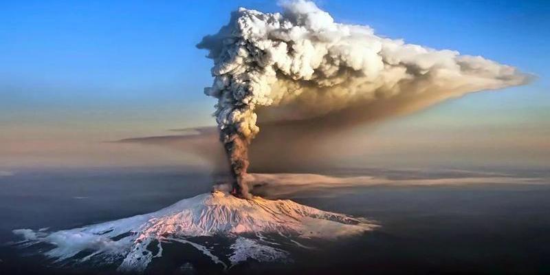 El volcán Etna actúa realmente como una fuente termal gigante