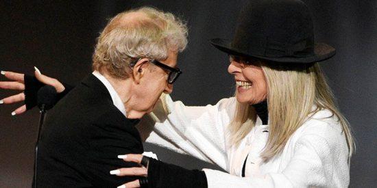 Diane Keaton da la cara por Woody Allen